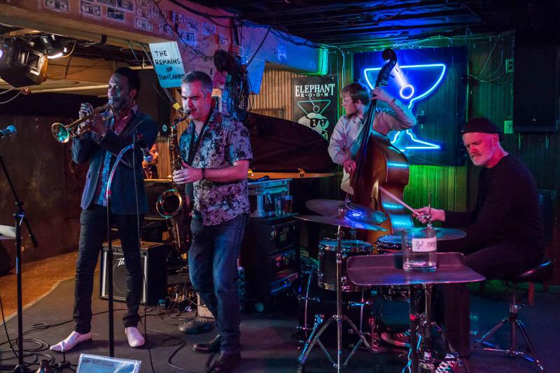 Elias Haslanger Quintet at the Elephant Room, Austin, TX 02-12-2016