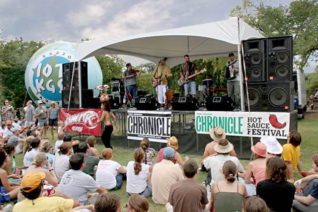 Sound System Rental for Austin Chronicle Hot Sauce Festival
