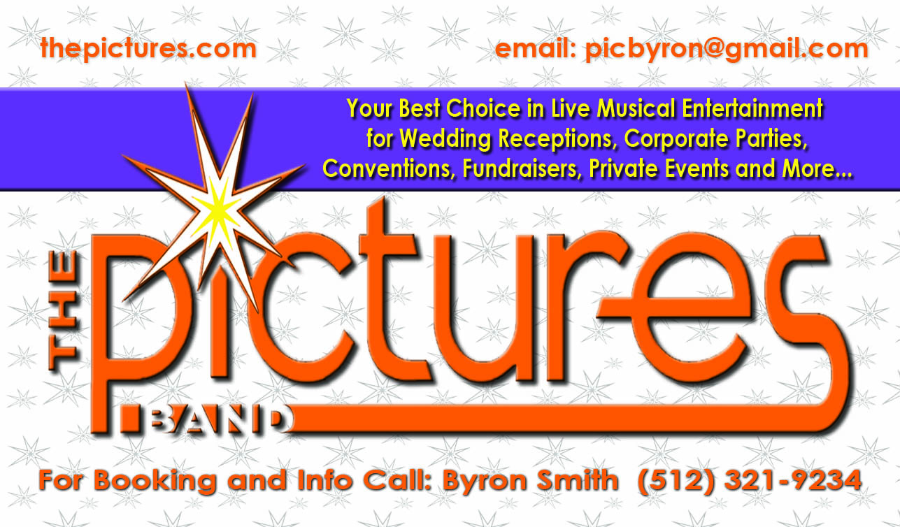 David barrow productions sound system rental for austin and the the pictures band 2012 business card magicingreecefo Choice Image