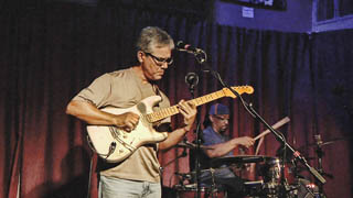 Morning Ley - Glenn Rexach at Strange Brew 08-25-2013