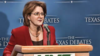 Debra Medina at Post-Debate Press Conference 01-14-2010
