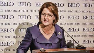 Debra Medina at Post-Debate Press Conference 01-29-2010