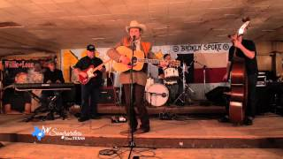James Hand Performs In the Corner at My Table by the Juke Box on Songwriters Across Texas Show, with Redd Volkaert, Nick Connolly, Wes Starr, and Billy Horton.
