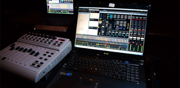 Live audio production using Software Audio Console