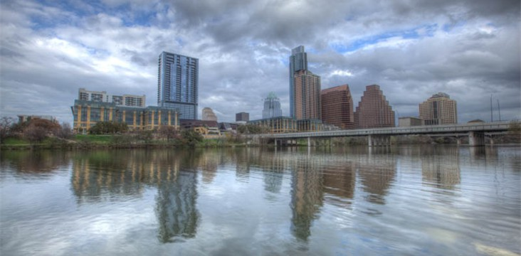 City of Austin skyline photography